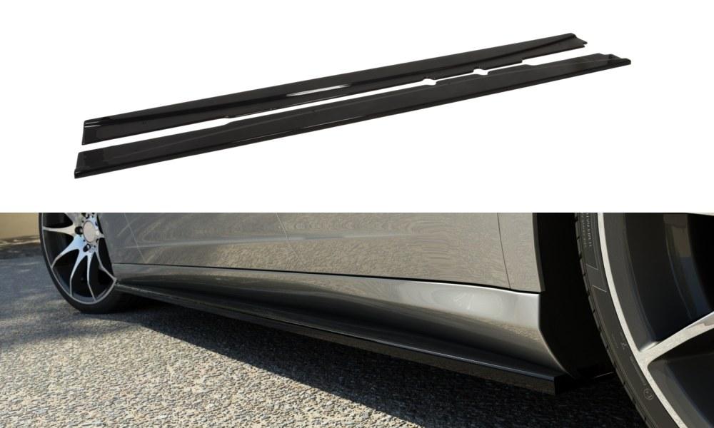 Dokładki Progów Mercedes C219 - GRUBYGARAGE - Sklep Tuningowy